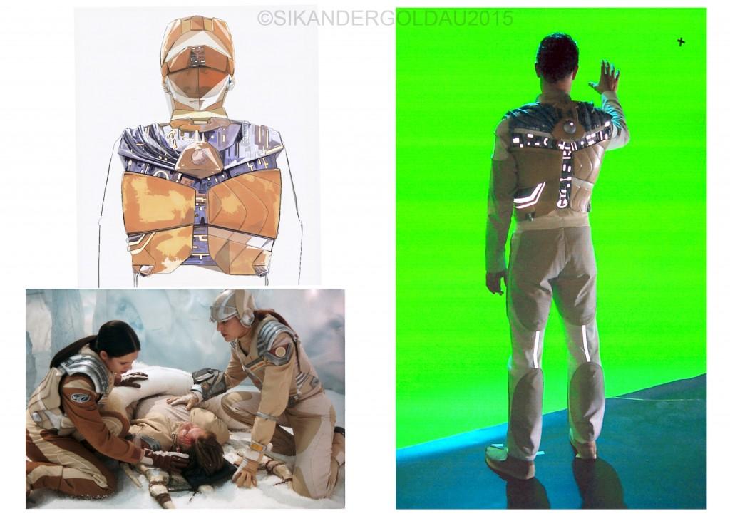 suit / vest / helmet